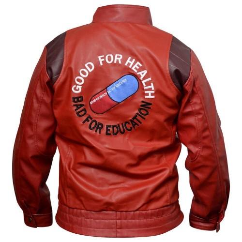 Akira Pill Kaneda Capsule Red Leather Jacket-0
