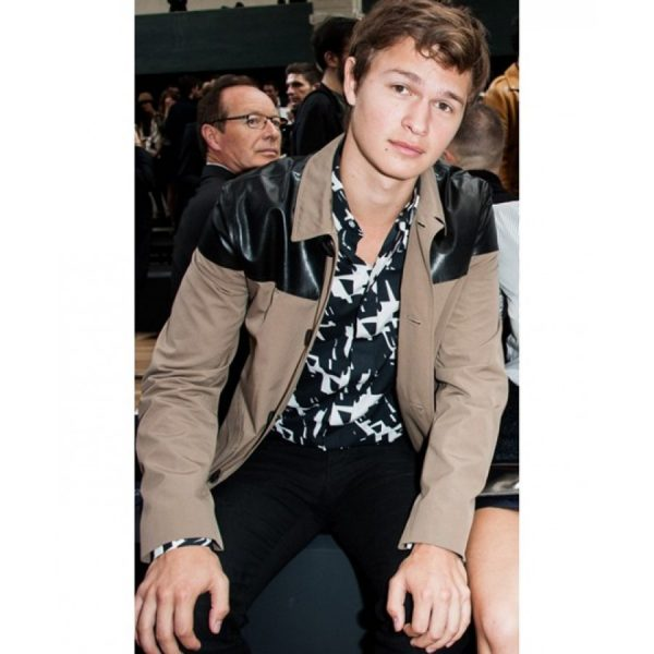 Ansel Elgort Cotton Jacket