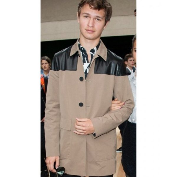 Ansel Elgort Cotton Jacket-0