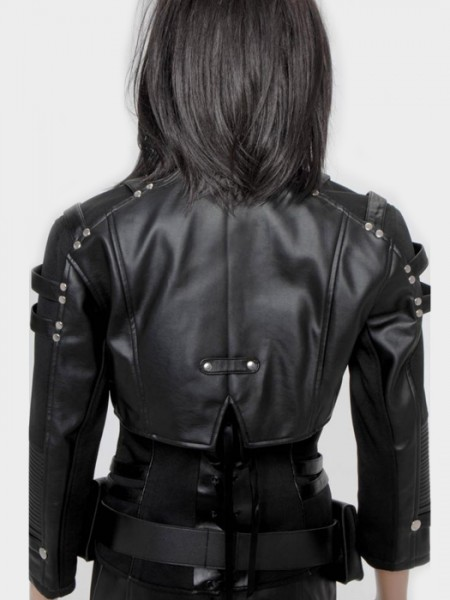 Katie Cassidy Biker Leather Jacket