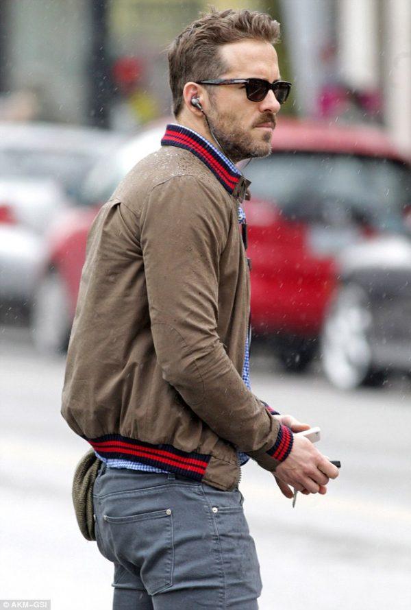 Ryan Reynolds Brown Jacket