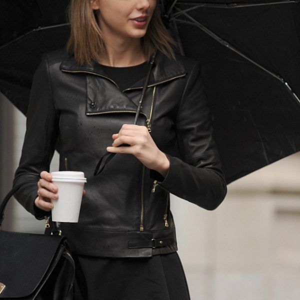 Taylor Swift Leather Jacket-0