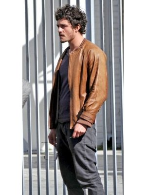 Brian Epkeen Brown Leather Jacket