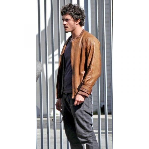 Brian Epkeen Brown Leather Jacket