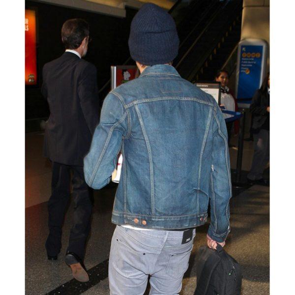 Zac Efron Dark Blue Jacket
