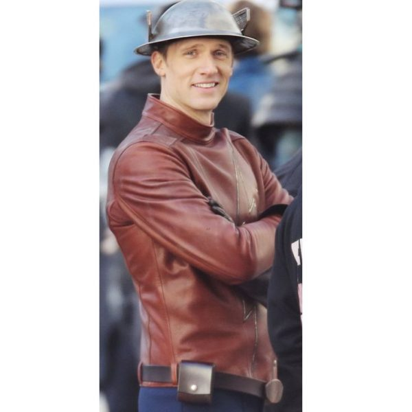 Jay Garrick The Flash Brown Jacket