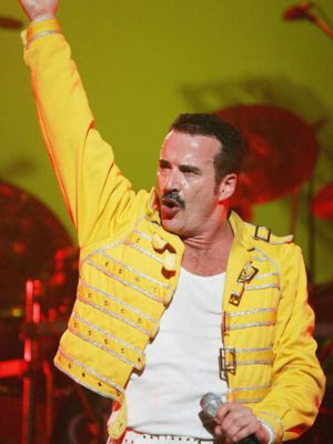 Freddie Mercury Concert Yellow Jacket-0