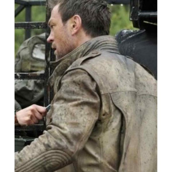 Defiance Brown Leather Jacket