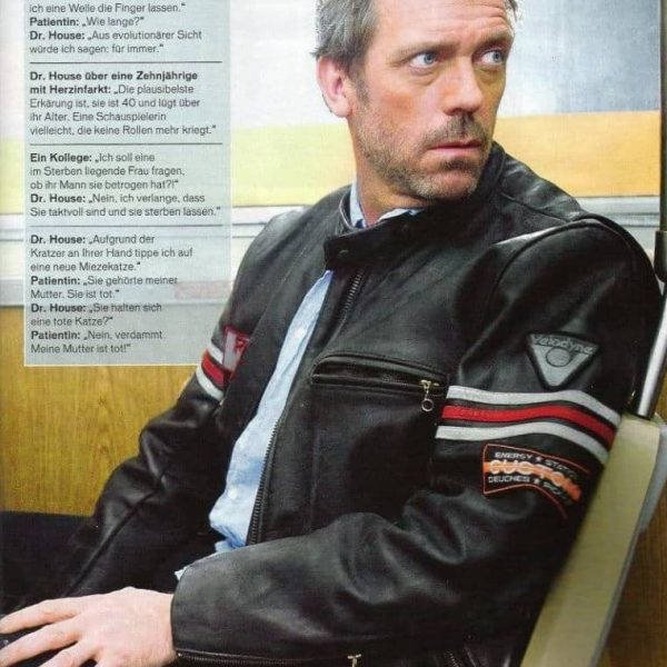 House MD RTAI DR Cafe Recer Jacket