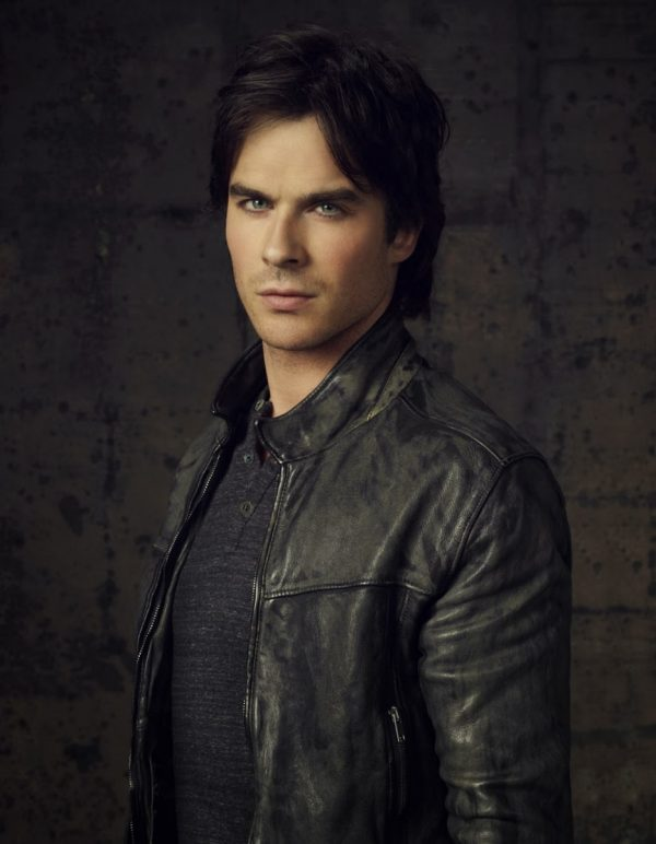 The Vampire Diaries Black Leather Jacket