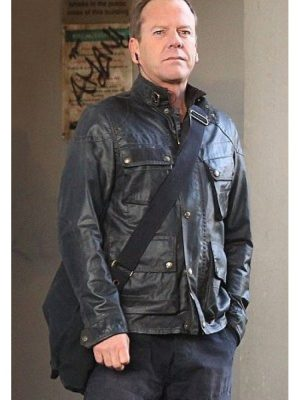 24 Live Another Day Jack Bauer Leather Jacket-0