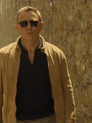 Spectre James Bond Suede Leather Jacket
