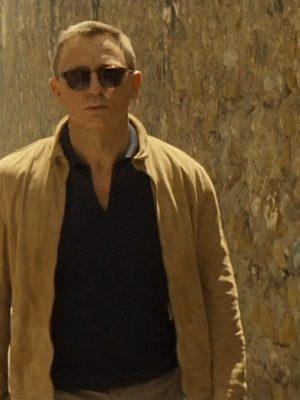 Spectre James Bond Suede Leather Jacket