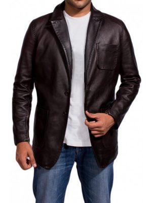 Brown Wild Card Jason Statham Jacket