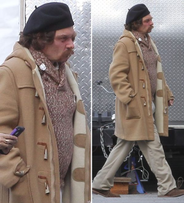 Johnny Depp Long Coat