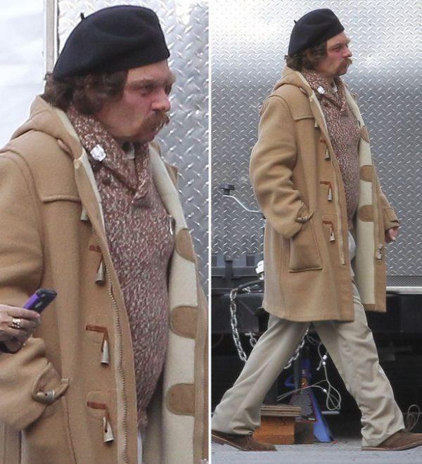 Johnny Depp Long Coat