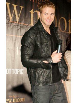 TheTwilight Kellan Lutz Leather Jacket