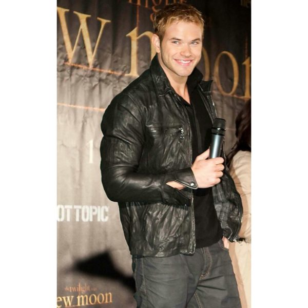TheTwilight Kellan Lutz Leather Jacket
