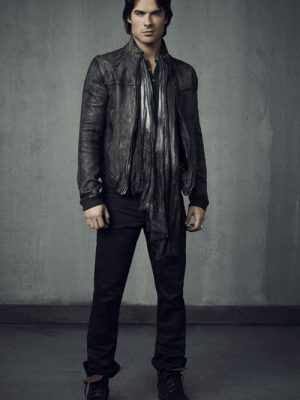 The Vampire Diaries Damon Salvatore Jacket-0
