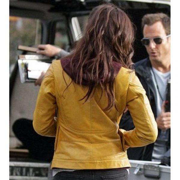 Megan Fox Yellow Jacket