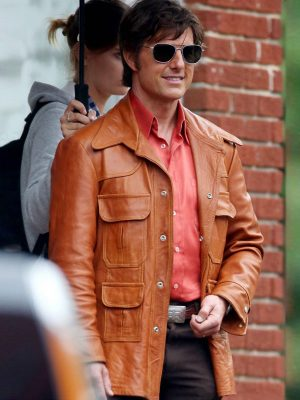 Tom Cruise Mena Leather Jacket-0