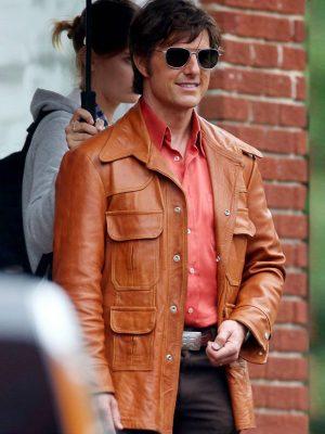 Tom Cruise Mena Leather Jacket-0