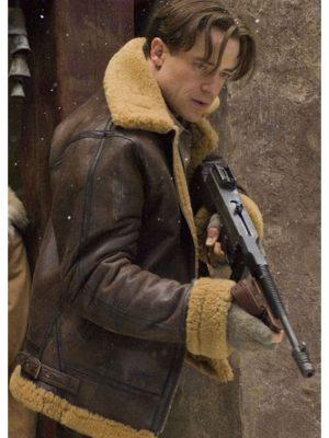 The Mummy Shearling Leather Jacket Jacket