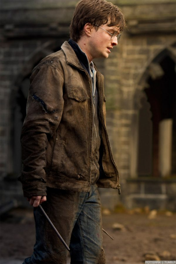 Harry Potter Brown Leather Jacket