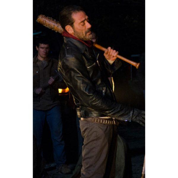 The Walking Dead Negan Black Jacket