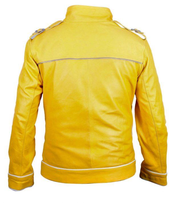 Freddie Mercury Queen Band Yellow Jacket