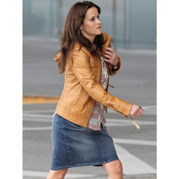 The Good Lie Brown Leather Jacket