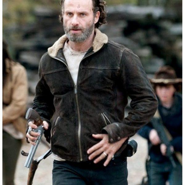 Rick Grimes Walking Dead Jacket-0