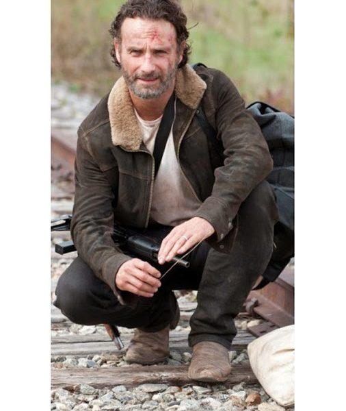 Rick Grimes Brown Jacket