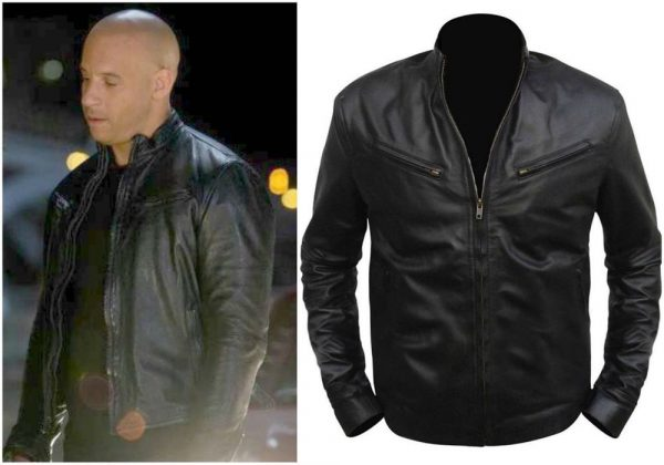 Vin Diesel Fast and The Furious Black Jacket