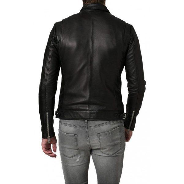 Lambskin Black Mens Jacket
