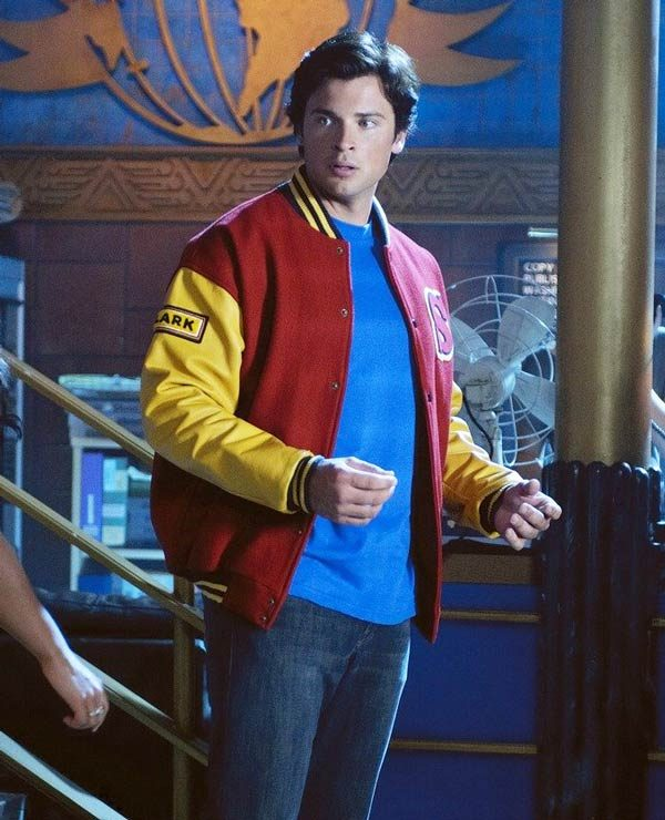 Smallville Homecoming Red and Yellow Jacket