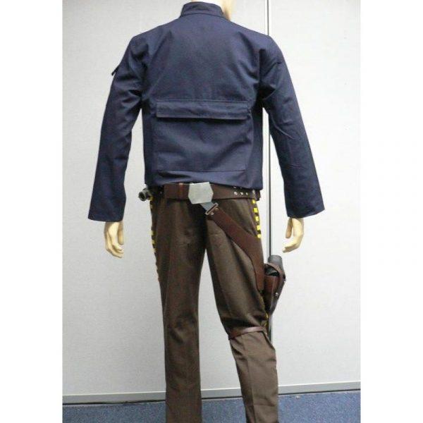 Harrison Ford Han Solo Star Wars Dark Blue Jacket