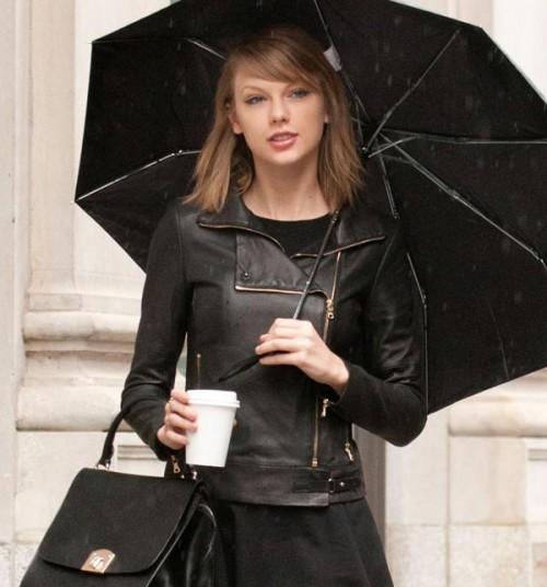 Taylor Swift Biker Leather Jacket