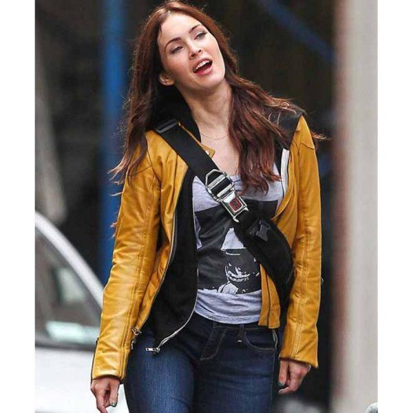 Megan Fox Teenage Mutant Ninja Turtles Leather Jacket