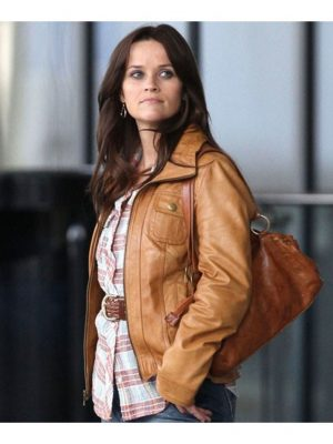 The Good Lie Carrie Davis Leather Jacket-0