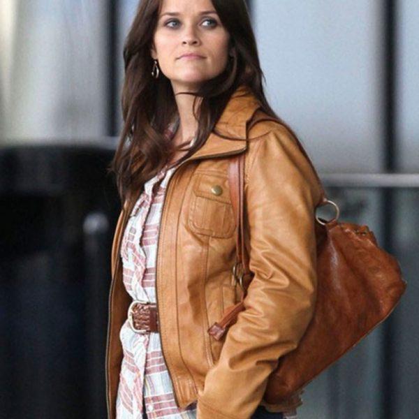 The Good Lie Carrie Davis Leather Jacket-0