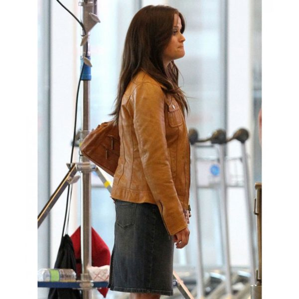 The Good Lie Carrie Davis Brown Jacket