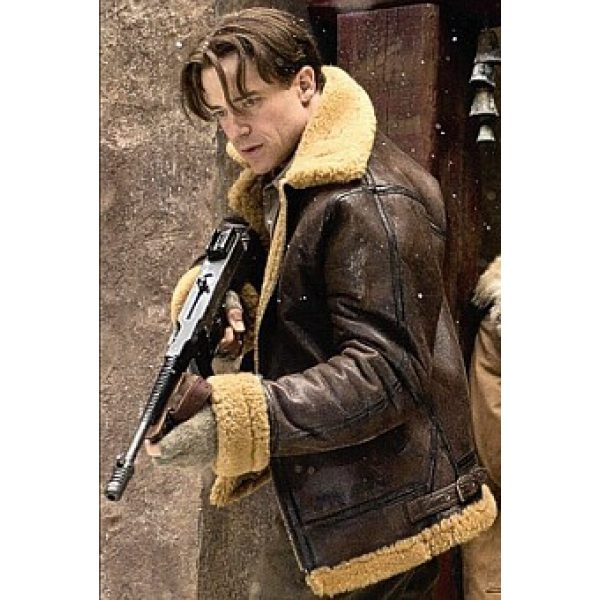 The Mummy Shearling Leather Jacket