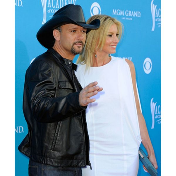 Tim Mcgraw Black Leather Jacket