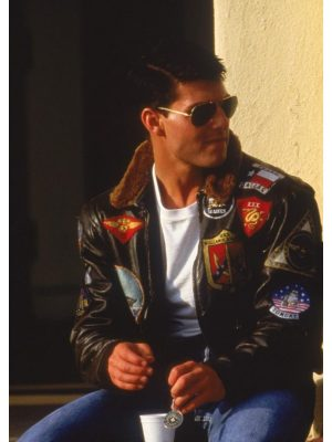 top gun flight jacket