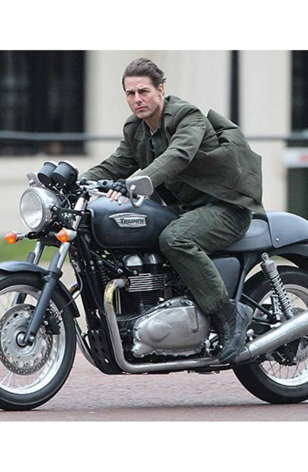 Tom Cruise Cotton Jacket From Edge of Tomorrow
