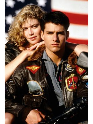 Tom Cruise Top Gun Leather Jacket-0