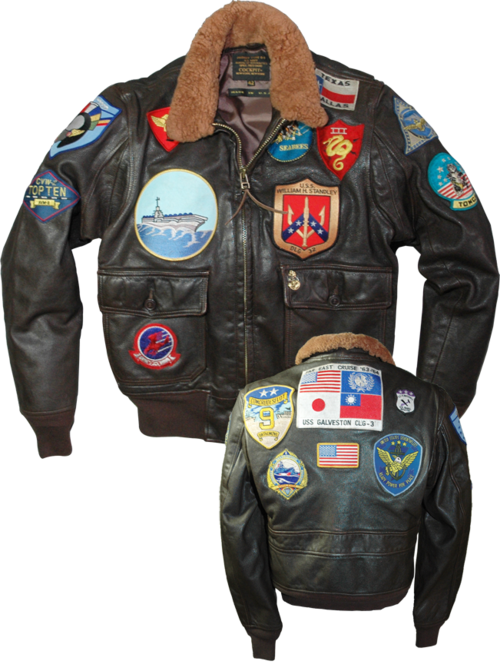 tom cruise top gun flight jacket