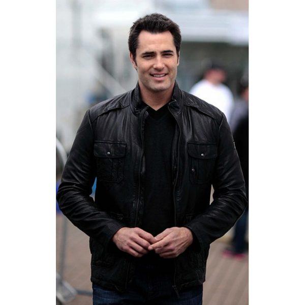 Victor Webster Continuum TV Series Carlos Fonnegra Jacket-0