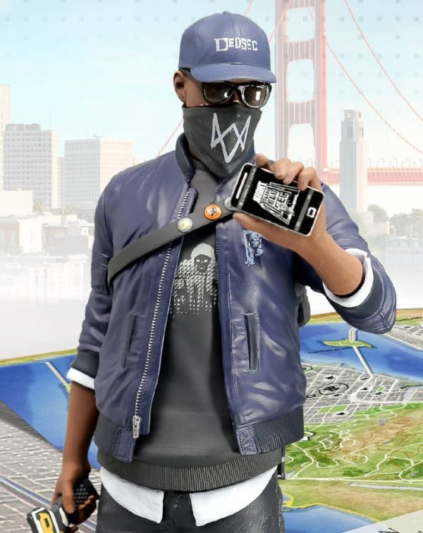 Watch Dogs 2 Marcus Holloway Jacket-0